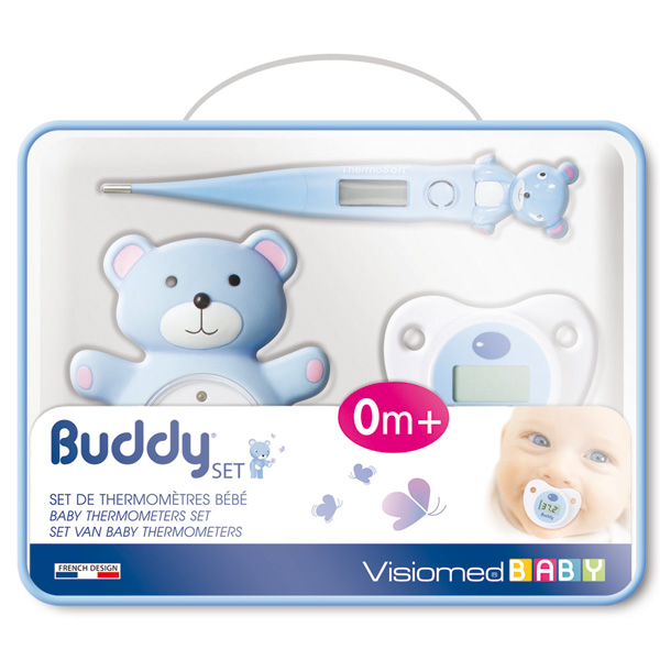 Set de 3 thermomètres buddy set Visiomed