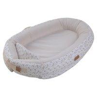 Réducteur de lit baby nest premium 0-7 mois grey moon