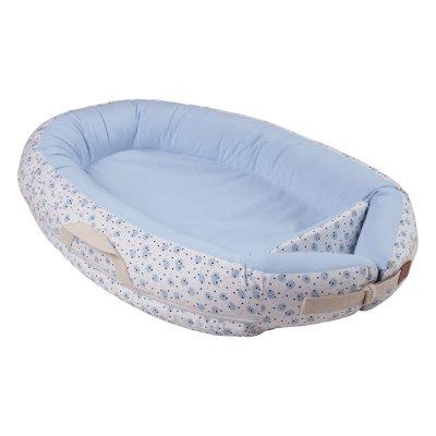 Réducteur de lit baby nest premium 0-7 mois blue moon Voksi