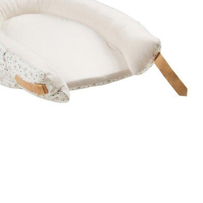 Réducteur de lit baby nest premium 0-7 mois grey moon Voksi