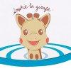 Visiere de bain sophie la girafe Vulli