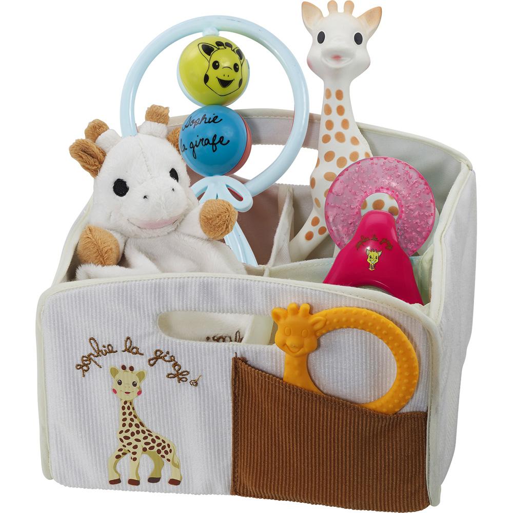 corbeille de naissance sophie la girafe de vulli sur allob b. Black Bedroom Furniture Sets. Home Design Ideas