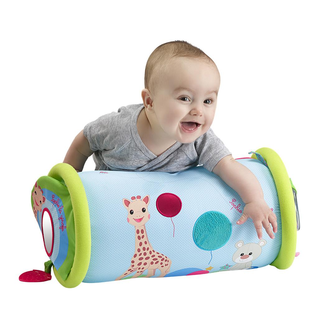 jouet d 39 veil b b rollin 39 sophie la girafe de vulli chez. Black Bedroom Furniture Sets. Home Design Ideas