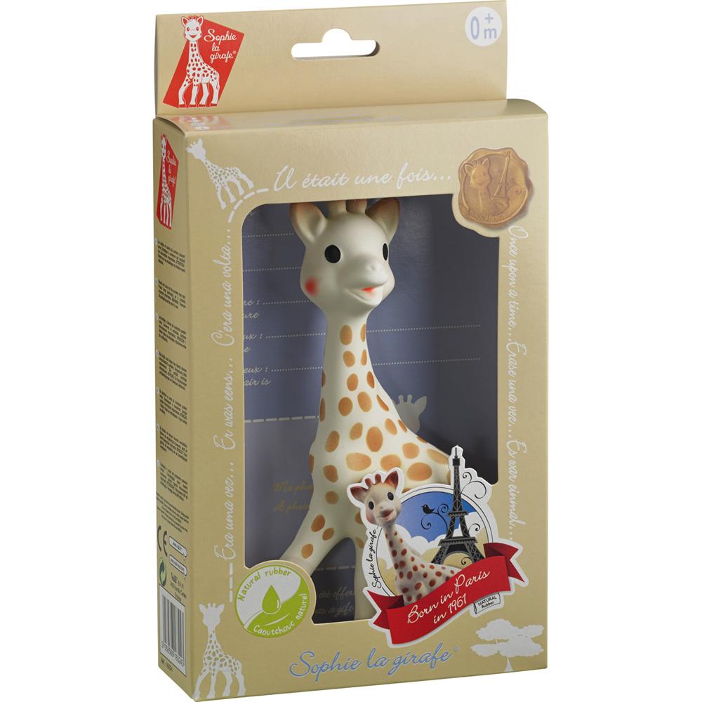 doudou sophie la girafe boite cadeau de vulli. Black Bedroom Furniture Sets. Home Design Ideas