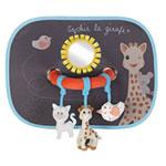 Set de 2 pare-soleil avec arche d'activités sophie la girafe