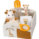 Corbeille de naissance sophie la girafe pas cher