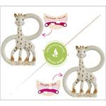 Duo anneaux de dentition so'pure sophie la girafe