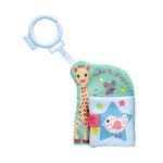 Livre bébé mon 1er livre d'éveil sophie la girafe pas cher