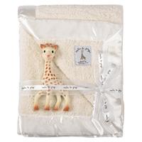 Couverture bébé prestige sophie la girafe 85 x 73 cm