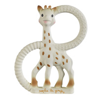 Anneau de dentition so pure sophie la girafe version souple