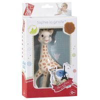 Jouet d'éveil bébé sophie la girafe en boîte cadeau