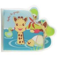 Jouet de bain bébé livre de bain sophie la girafe