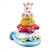 Jouets de bain splash and surf pyramide sophie la girafe