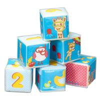 Jouets de bain bébé cubes sophie la girafe