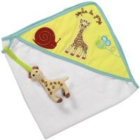 Sortie de bain bébé sophie la girafe