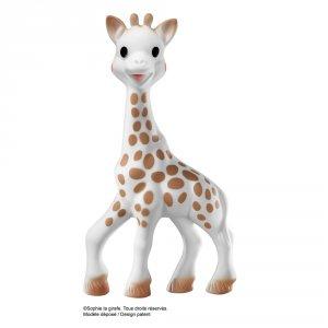 Doudou sophie la girafe boite cadeau