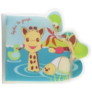 Jouet de bain bébé livre sophie la girafe