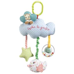 Jouet d'éveil bébé boîte à musique sophie la girafe