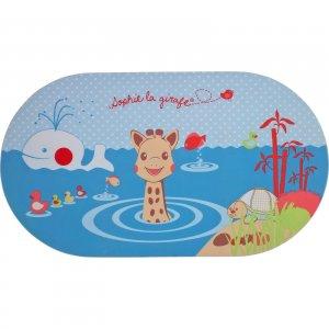 Tapis de bain avec indicateur de température sophie la girafe