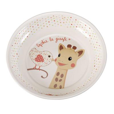 Set de repas version kiwi sophie la girafe Vulli