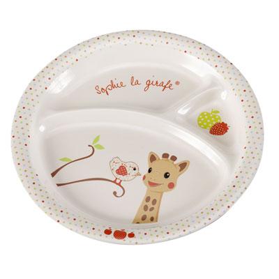 Mon premier coffret repas sophie la girafe version kiwi Vulli
