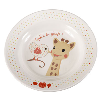 Coffret repas sophie la girafe version kiwi Vulli