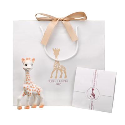 Coffret naissance grand modèle sophie la girafe Vulli