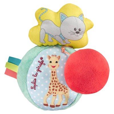 Balle vibrante et sonore sophie la girafe Vulli