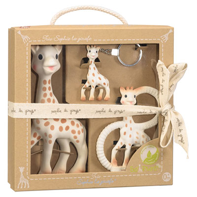 Coffret so pure trio sophie la girafe Vulli