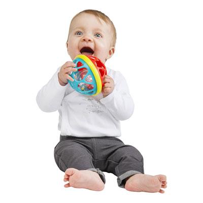 Jouet d'éveil bébé soft ball sophie la girafe Vulli