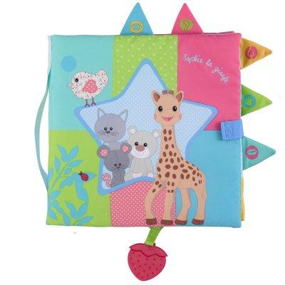 Livre sensitive book sophie la girafe Vulli