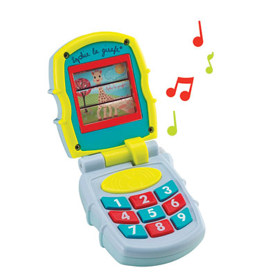 Jouet d'éveil musical'phone sophie la girafe Vulli