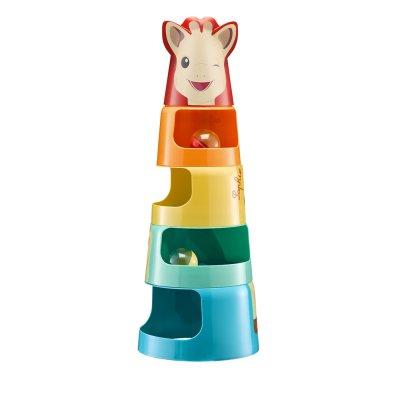 Jouet d'éveil bébé la tour géante de sophie la girafe Vulli