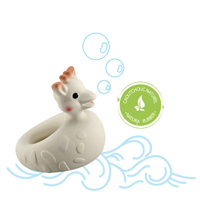 Jouet de bain bébé so pure sophie la girafe Vulli