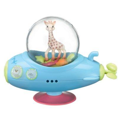 Jouets de bain bébé sous marin sophie la girafe Vulli
