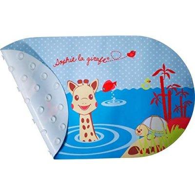 Tapis de bain avec indicateur de température sophie la girafe Vulli