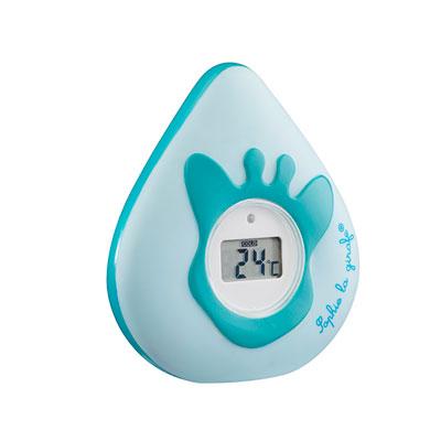 Thermomètre de bain bébé et d'ambiance digital sophie la girafe Vulli