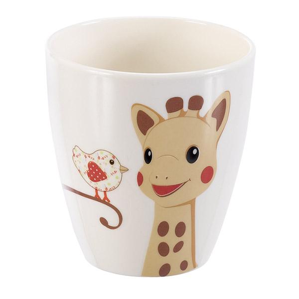 Coffret repas bébé version kiwi sophie la girafe Vulli