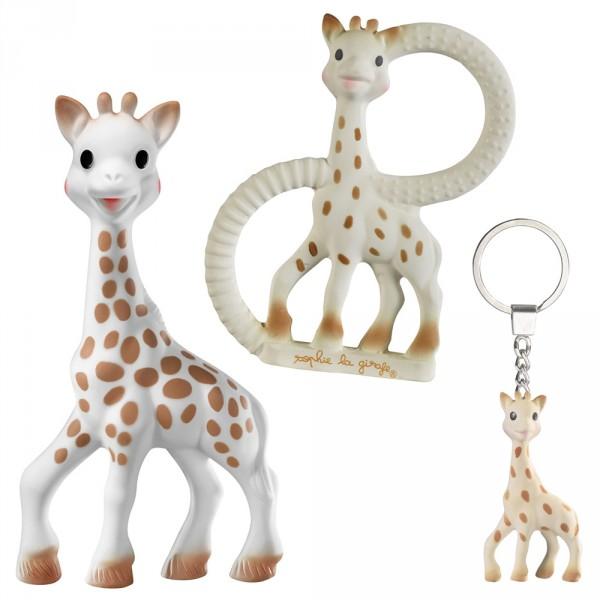 Coffret so pure trio sophie la girafe Vulli