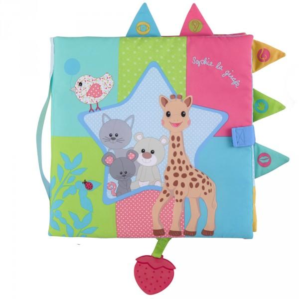 Livre sensitive book sophie la girafe