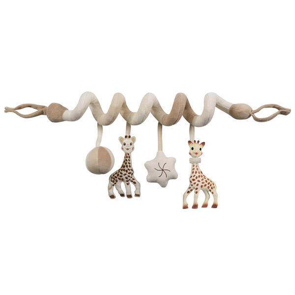 Jouets de lit bébé so pure sophie la girafe Vulli