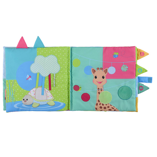Sensitive book sophie la girafe Vulli