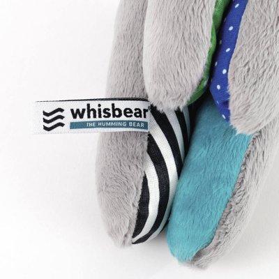 Peluche l'ourson apaisant Whisbear