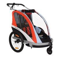 Remorque de vélo pour enfant buggy go trailer 3 en 1