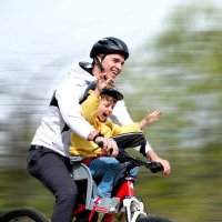 Siège bébé pour vélo classic red weeride