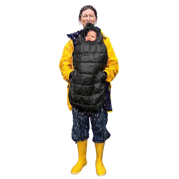 Cape pour porte bébé carryboo noir B+b