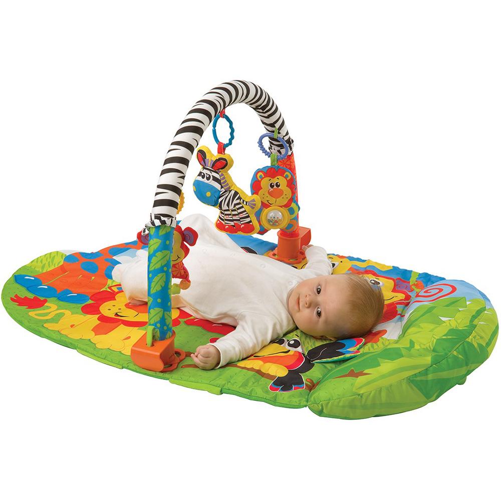tapis de gym safari 3 en 1 de playgro chez naturab b. Black Bedroom Furniture Sets. Home Design Ideas
