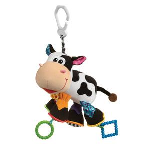 Ma peluche d'activité camilla la vache