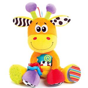 Peluche bébé mon amie la girafe