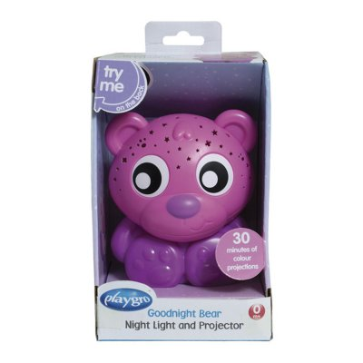 Veilleuse projection ourson Playgro